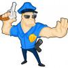 Jeux de police en flash