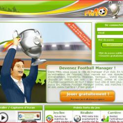 Jeu de foot en ligne : Football Manager - Entraineur de foot