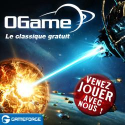 Ogame - Jeu futuriste dans l'espace